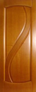 Ульяновские межкомнатные двери 50-3 Парус (анегри светлый)