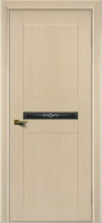 Ульяновские межкомнатные двери 36-7 Элегант (тон 16 беленый дуб)