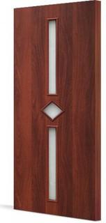 Межкомнатные ламинированные двери 20-24 Ромб (орех итальянский)