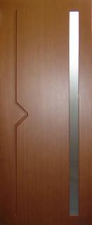 Ярославские межкомнатные двери 9-27 Вертикаль М (орех ф/л)