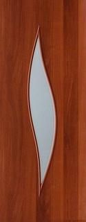 Межкомнатные ламинированные двери 20-11 Силуэт (итальянский орех)