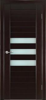 Ульяновские межкомнатные двери 50-6 Горизонт (венге)
