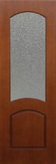 Владимирские межкомнатные двери 4-3 Леон (орех)