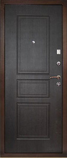 Входные стальные двери 2-3 Элит венге