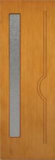 Владимирские межкомнатные двери 4-5 Эко (светлый дуб)