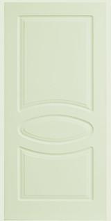 Межкомнатные белые двери 6-9 Овал