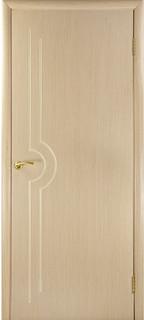 Ярославские межкомнатные двери 9-22 Силуэт (отбеленный дуб ф/л)