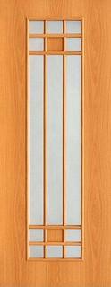 Межкомнатные ламинированные двери 20-15 Эко (миланский орех)