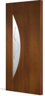 Межкомнатные ламинированные двери 20-6 Луна (итальянский орех)