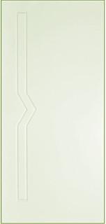 Межкомнатные белые двери 6-5 Молния