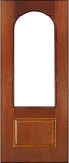 Ярославские межкомнатные двери 9-4 Арка (шпон рамиада)