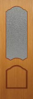 Владимирские межкомнатные двери 4-4 Виктория (светлый дуб)