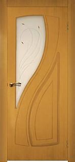 Ярославские межкомнатные двери 3-6 Парус (античный орех)