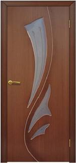 Ярославские межкомнатные двери 3-9 Парус (светлый орех)