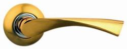Дверные ручки №1 Грация (золото матовое)