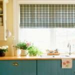 Современные шторы на кухню фото 2015