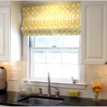 Римские шторы в кухне фото