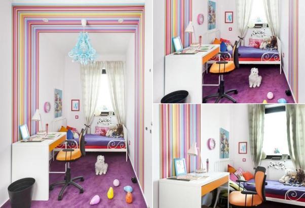 Дизайн детской комнаты для девочки в хрущевке фото
