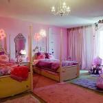 Детская комната для двоих девочек фото