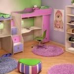 Детская комната для 2 девочек фото