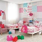 Детские комнаты для двоих девочек