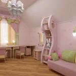 Диван в детскую комнату для девочки