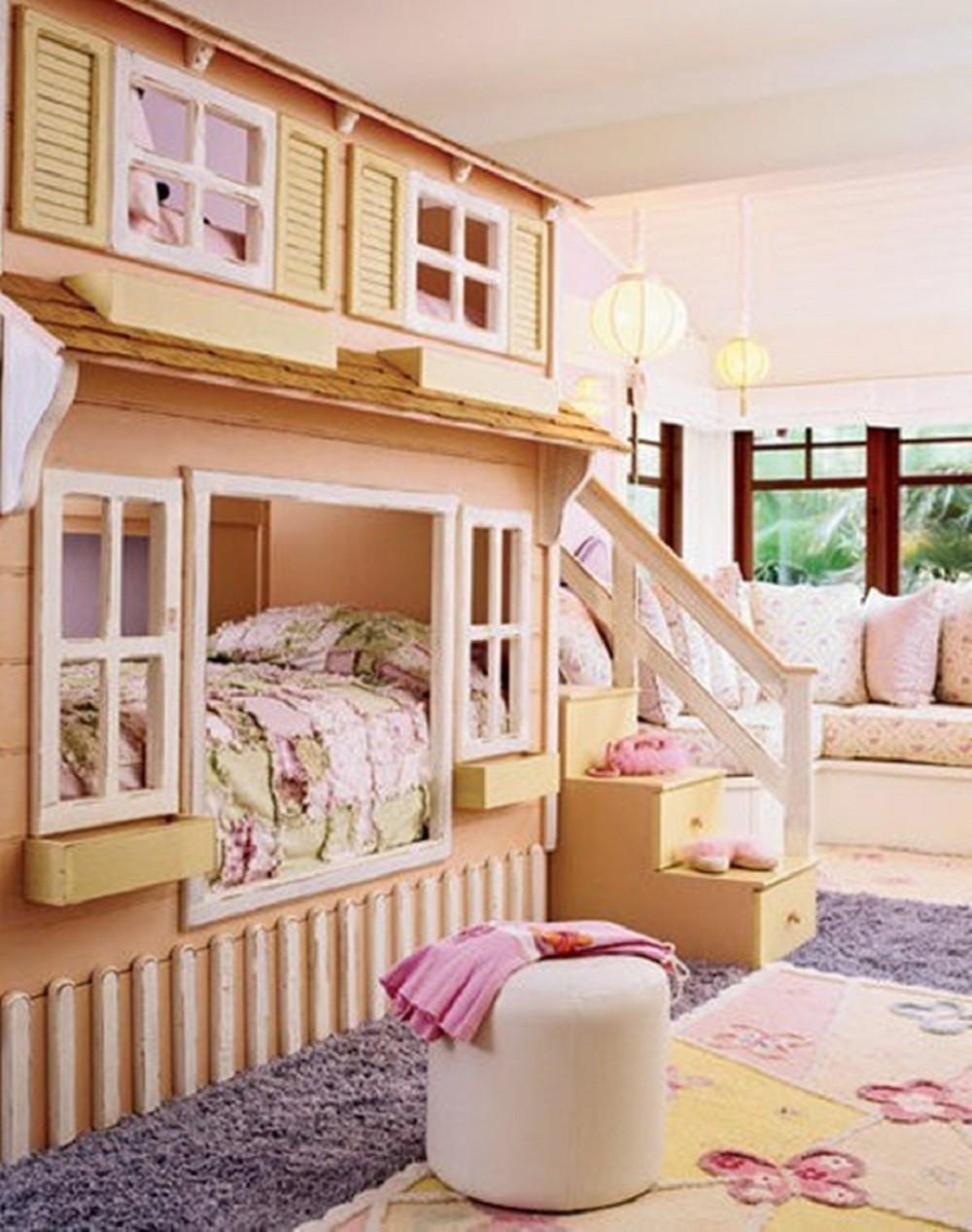 Необычные детские комнаты фото