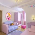 Как обставить детскую комнату для девочки