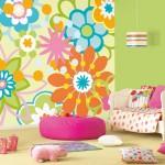 Отделка детской комнаты для девочки