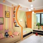 Оформление детской комнаты для девочек фото