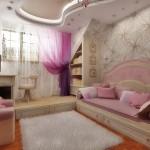Тюль в детскую комнату для девочки