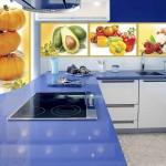 Оригинальные фотообои для оформления кухни