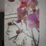Фотообои с орхидеями для кухни