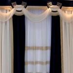 Красивые шторы для зала