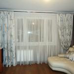 Белые шторы для зала