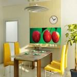 Фотообои вишня для оформления кухни