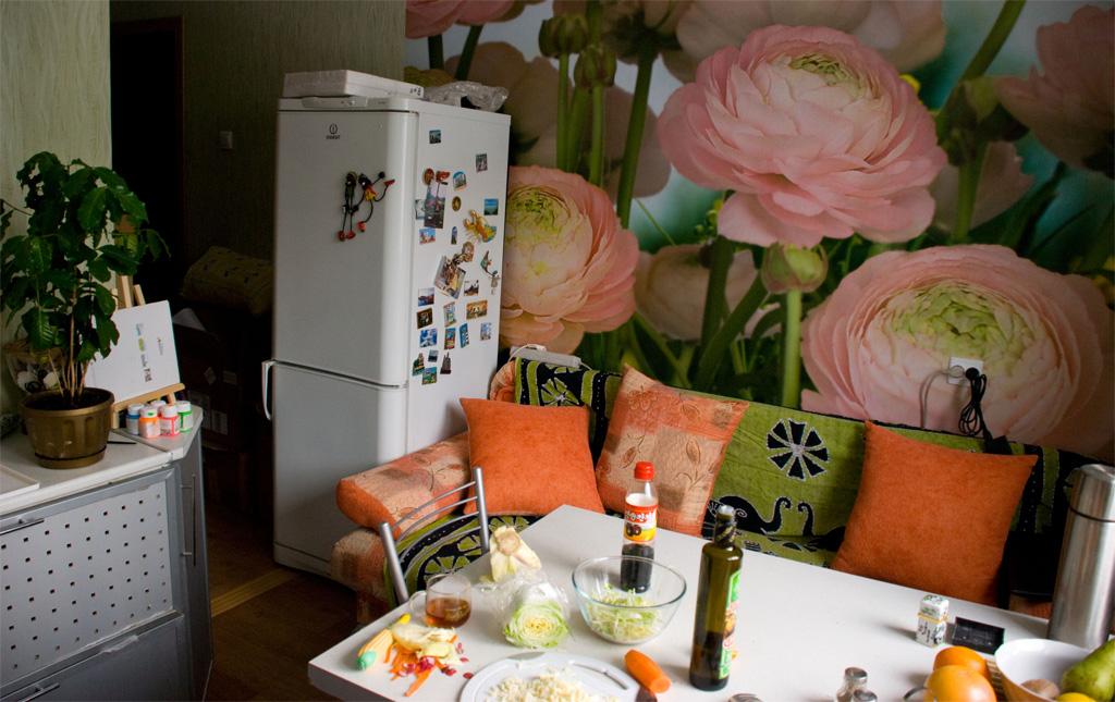 фотообои для маленькой кухни