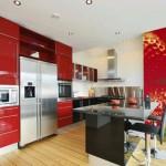 Фотообои для кухни клубника