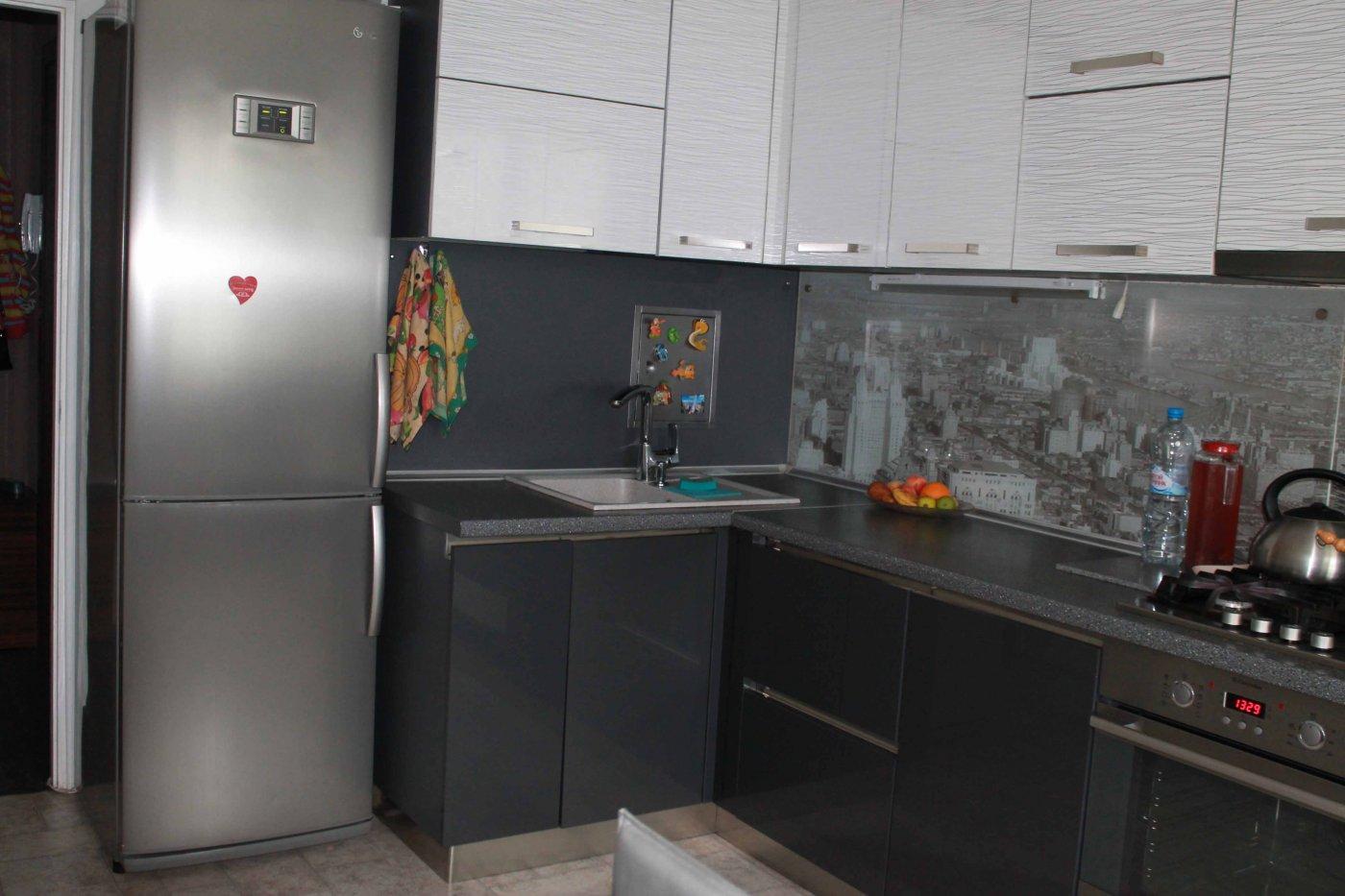 Дизайн кухни 6.7 кв.м фото с холодильником