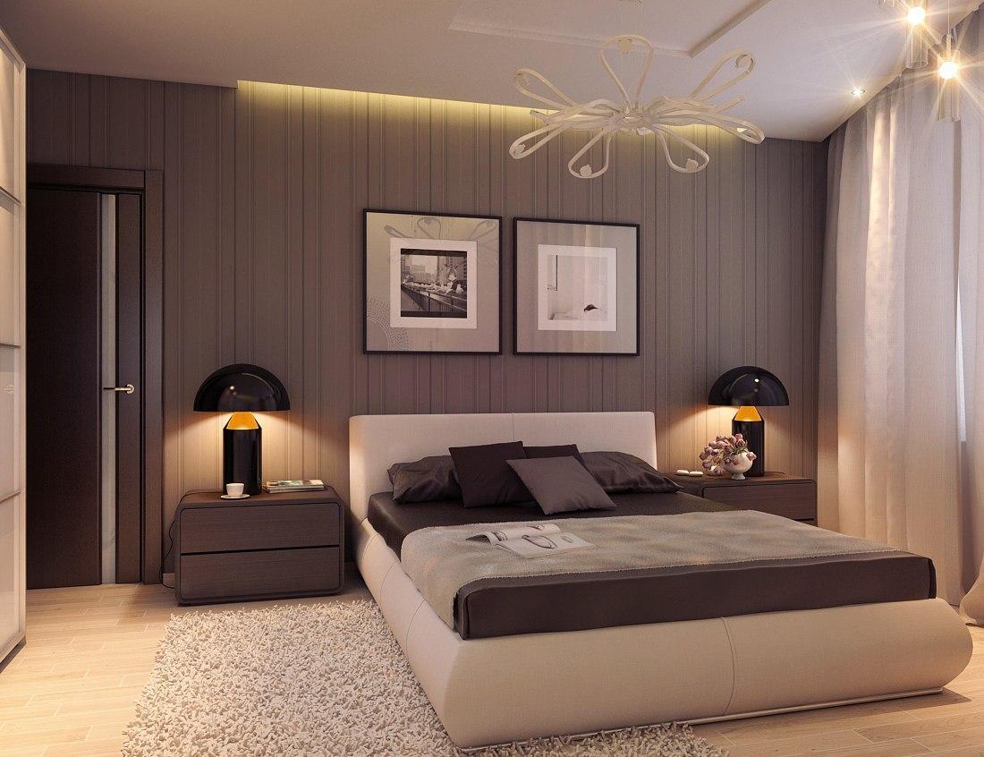 Дизайн спальни в квартире фото