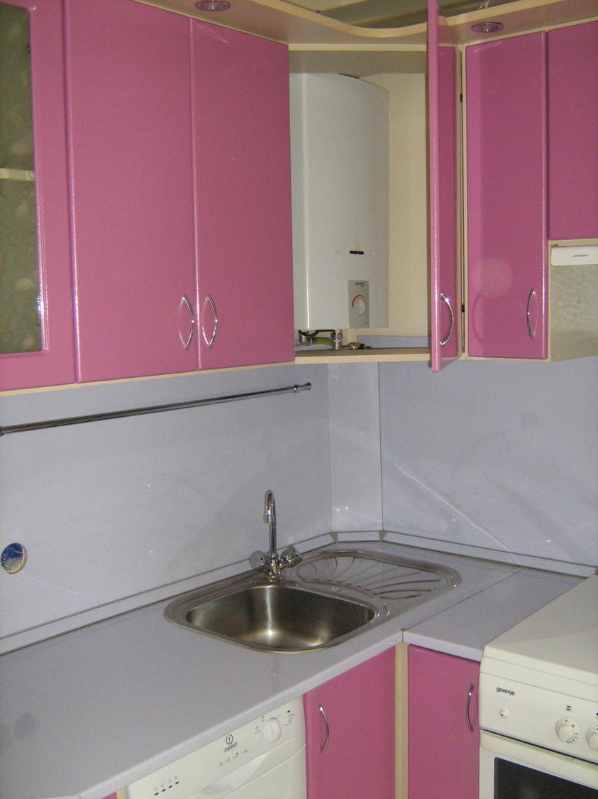 Дизайн кухни 6 кв.м фото с колонкой