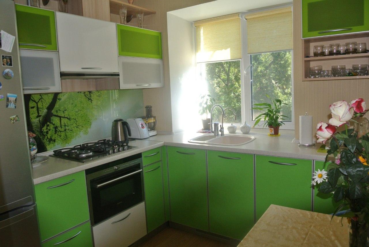 Идея для кухни 6 кв фото