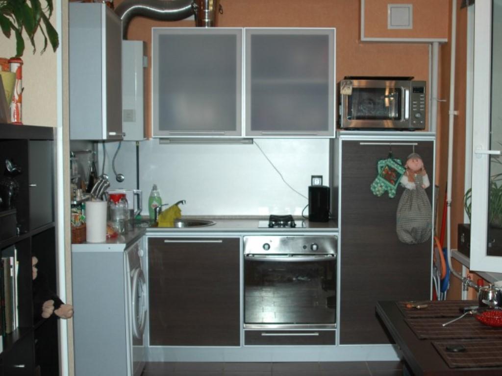 Ремонт кухни в хрущевке с газовой колонкой: технология и мон.