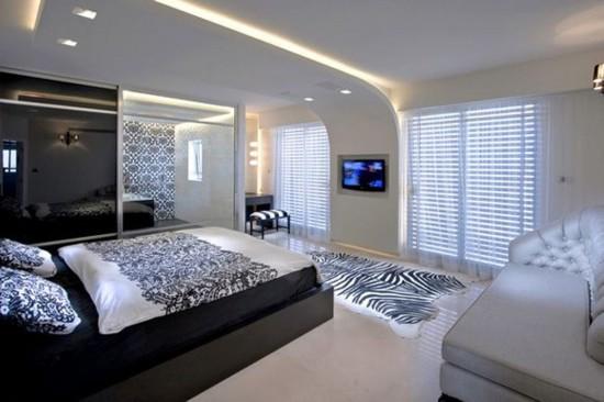 интерьер комнаты 12 кв м гостиная спальня фото