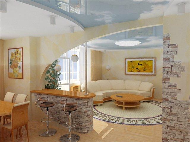 Дизайн интерьера гостиной в частном доме: с камином, в кл....