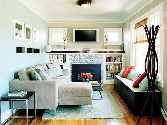 дизайн маленькой гостиной 10 метров квадратных Бюль-Бюль оглы, Ирина