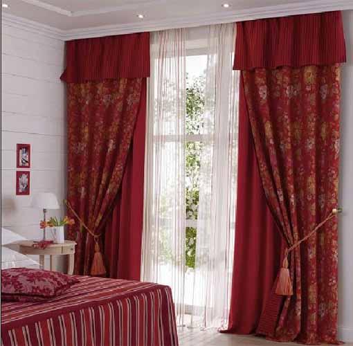 Сшить занавески для спальни своими руками