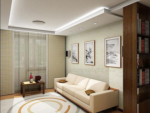 Современный дизайн гостиной в хрущевке фото