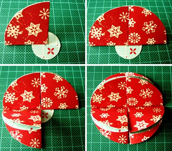 Новогодние шары из бумаги своими руками мастер
