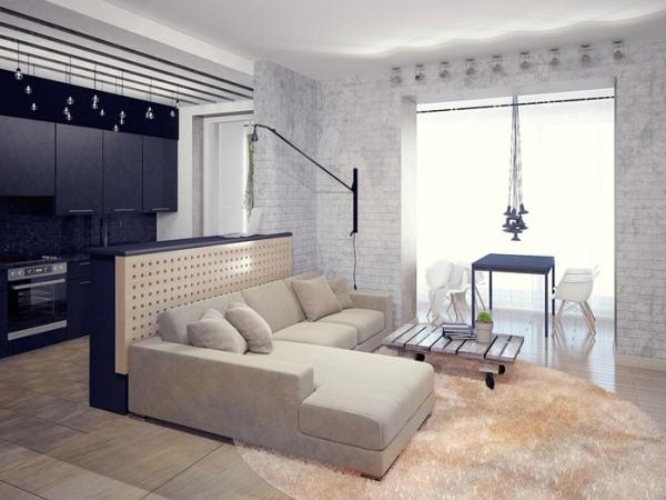 Дизайн маленькой гостиной 13 кв.м